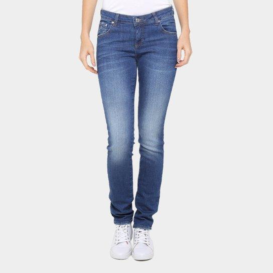 Calça Jeans Skinny Lacoste Cintura Média Feminina - Compre Agora ... bfce224153