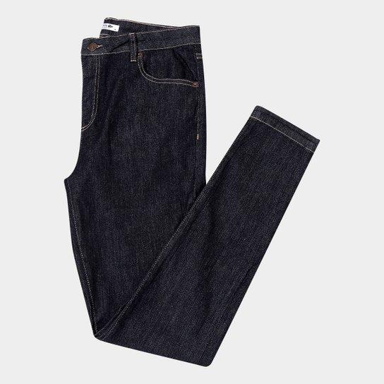 18ee2b7767a2c Calça Jeans Super Skinny Lacoste Lavagem Escura Feminina - Compre ...