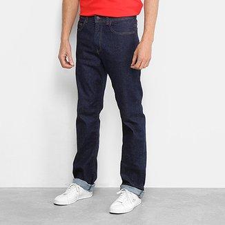 9d30a64318b7f Calça Jeans Reta Lacoste Lisa Masculina