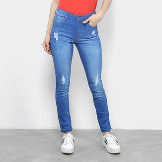 Calça Jeans Skinny Calvin Klein Cintura Média Feminina 61fecad114