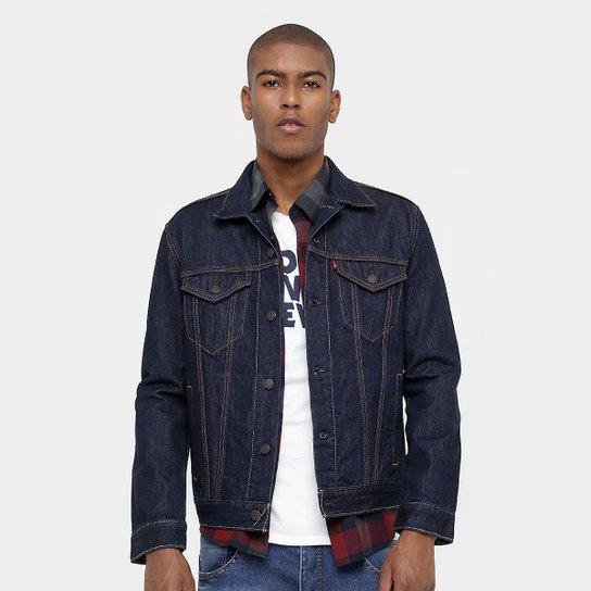 842ec93e70d9f Jaqueta Jeans Levi´s Escura - Compre Agora
