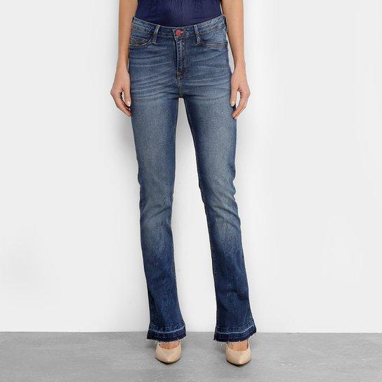 ee67848000 Calça Jeans Carmim Mara Boot Cut Cintura Média Feminina - Compre ...