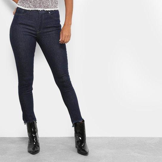 ab9fcef23 Calça Jeans Skinny Maria Filó Barra Desfiada Cintura Alta Feminino - Jeans
