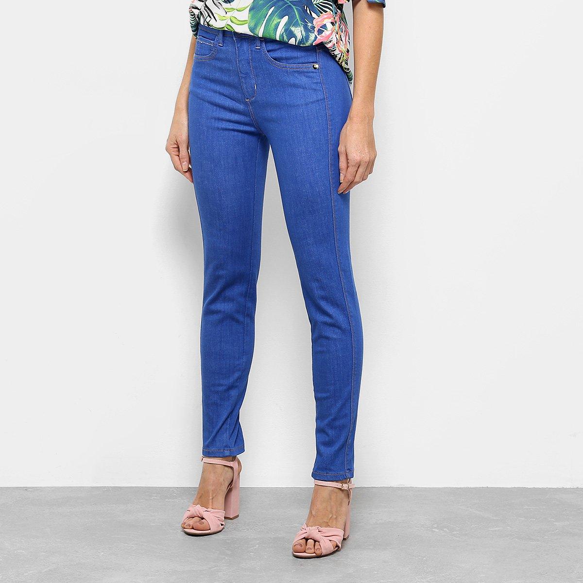 872463618 Calça Jeans Skinny Triton Special Cintura Média Feminina