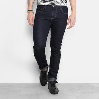 a61a9ae61 Calça Jeans Skinny Triton Lavagem Escura Masculina