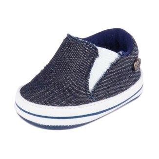 b149e06ee Tênis Klin Casual Recem Nascido Jeans