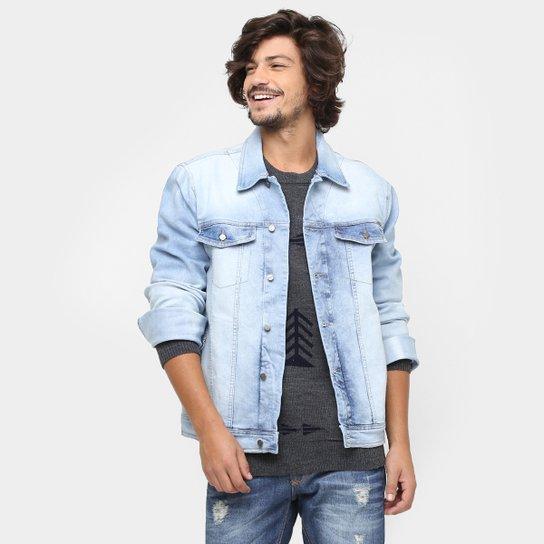 2478118f8a Jaqueta Jeans Colcci Lavada Estonada Elastano - Jeans