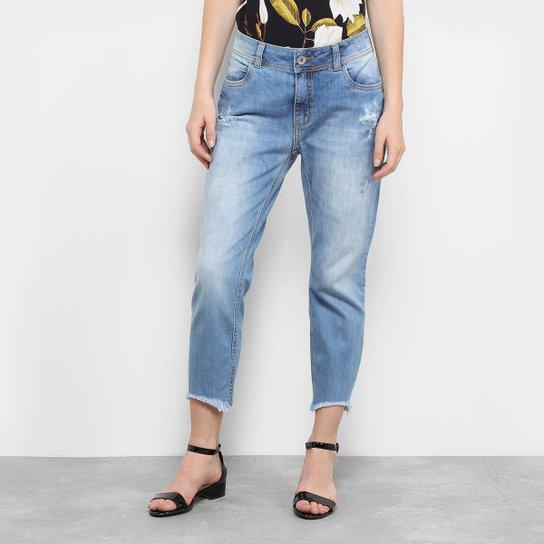 cf951f4ac Calça Jeans Boyfriend Colcci Duda Lavagem Clara Feminina - Compre ...
