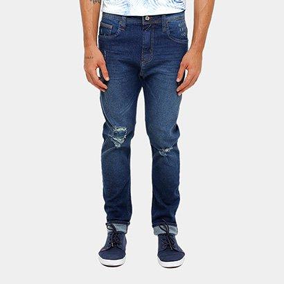 08e823482 ... Calça Jeans Skinny Colcci Enrico Gancho Grande Rasgos Masculino. Passe  o mouse para ver o Zoom