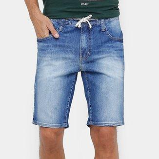 24e7028bf Bermuda Jeans Colcci Indigo Masculina