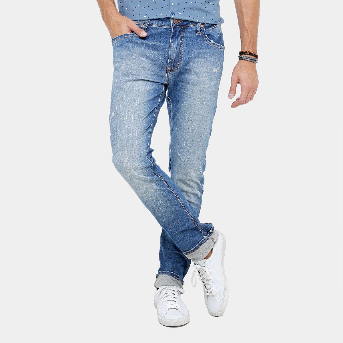 378a4faa1 Calça Jeans Reta Colcci Rodrigo Índigo Masculina   Livelo -Sua Vida ...
