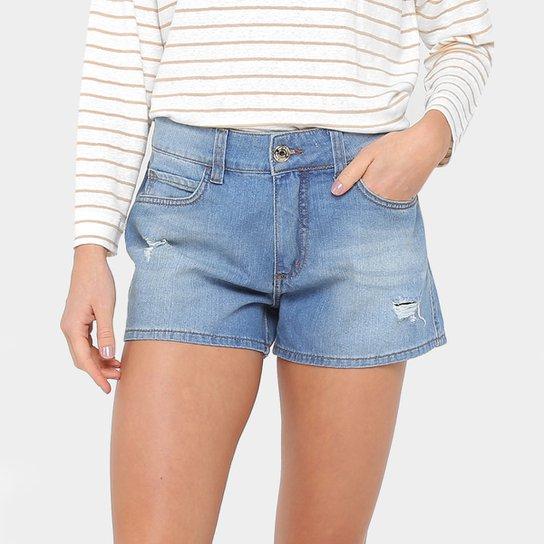 6da4c8472 Short Jeans Colcci Rasgado Feminino - Compre Agora