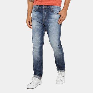 44b3808a81c Calça Jeans Colcci Enrico Estonada Masculina