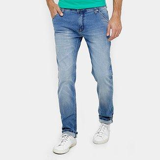 af884507b Calça Jeans Reta Colcci Alex Índigo Masculina