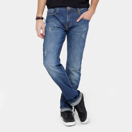7d22fa86d Calça Jeans Reta Colcci Alex Índigo Masculina - Compre Agora | Zattini