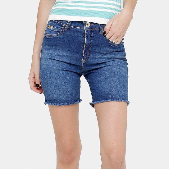 91a13fd53 Bermuda Jeans Colcci Indigo Desfiada Feminina | Zattini