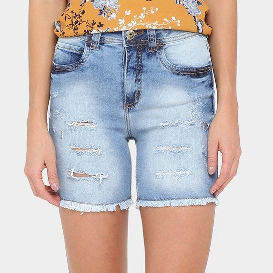 06240a924 Bermuda Jeans Colcci Índigo Feminina | Zattini