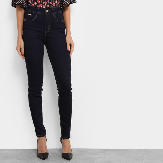 fdba1ed7c Calça Jeans Skinny Colcci Lavagem Escura Cintura Alta Feminina - Jeans