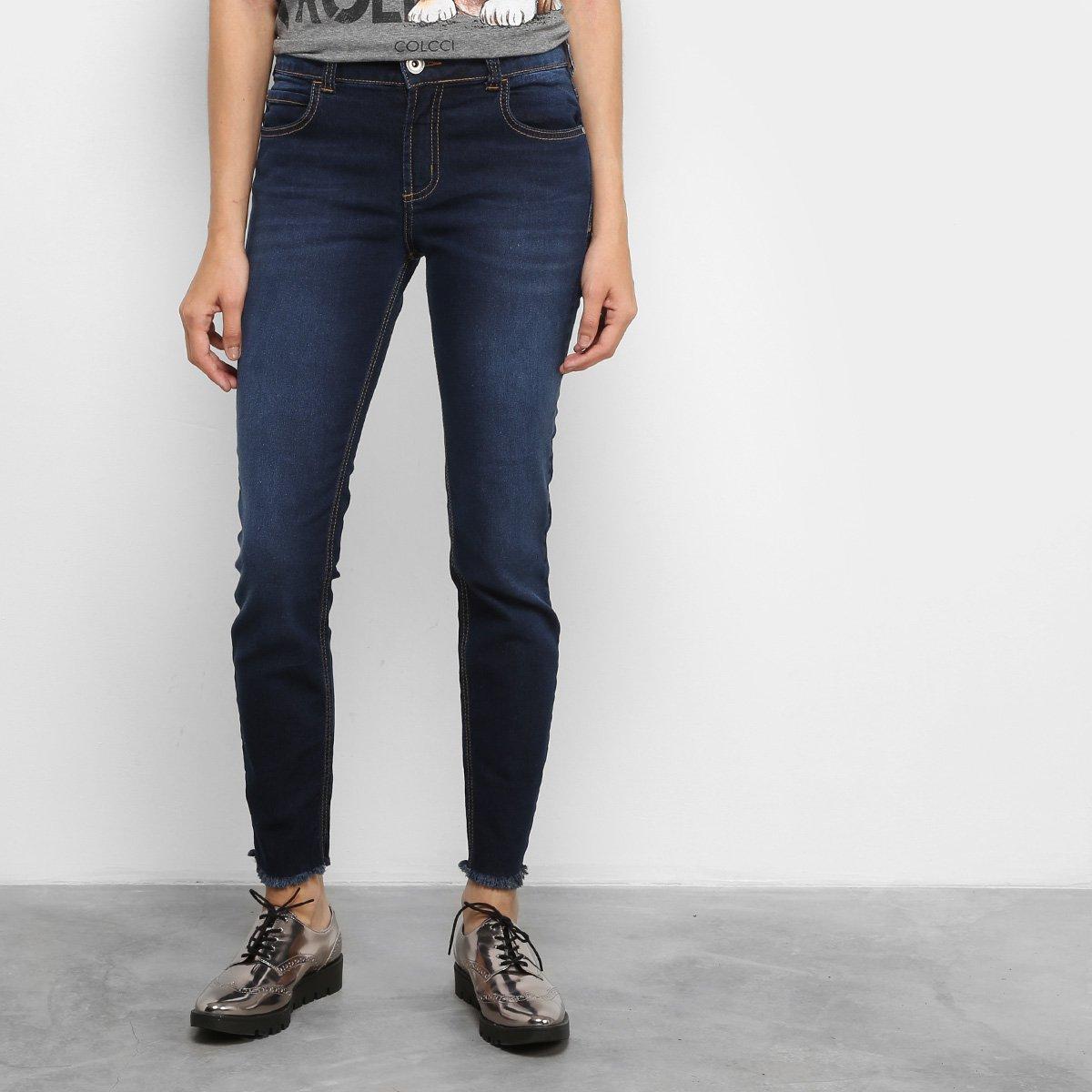 107fb4838 Calça Jeans Skinny Colcci Fátima Cintura Média Feminina