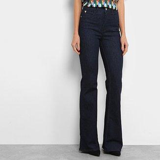 3543c7da1 Calça Jeans Flare Colcci Extreme Power Lavagem Escura Feminina
