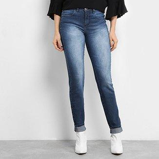 a4e83bf427 Calça Jeans Skinny Colcci Lavagem Estonada Cintura Alta Feminina