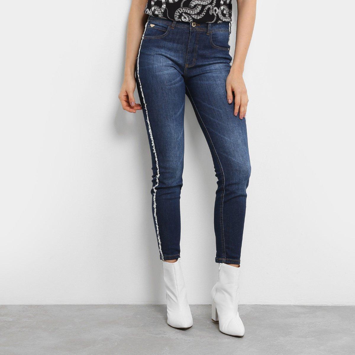 4120180f1 Calça Jeans Skinny Colcci Base Bia Cintura Alta Feminina | Livelo ...