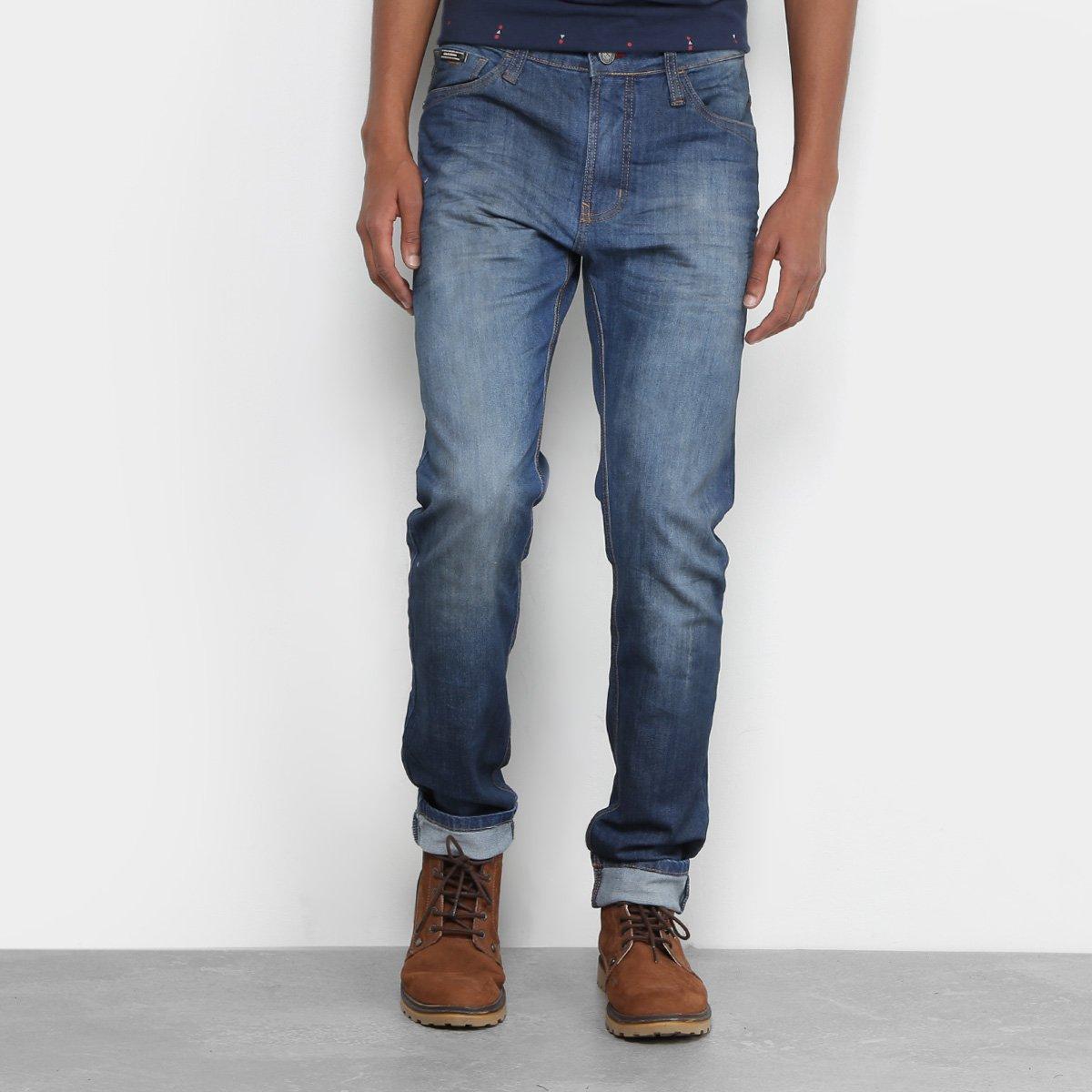c173a75ec Calça Jeans Skinny Colcci Felipe Stone Masculina