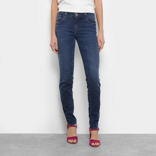 906208769 Calça Jeans Skinny Colcci Estonada Cintura Baixa Feminina - Compre ...