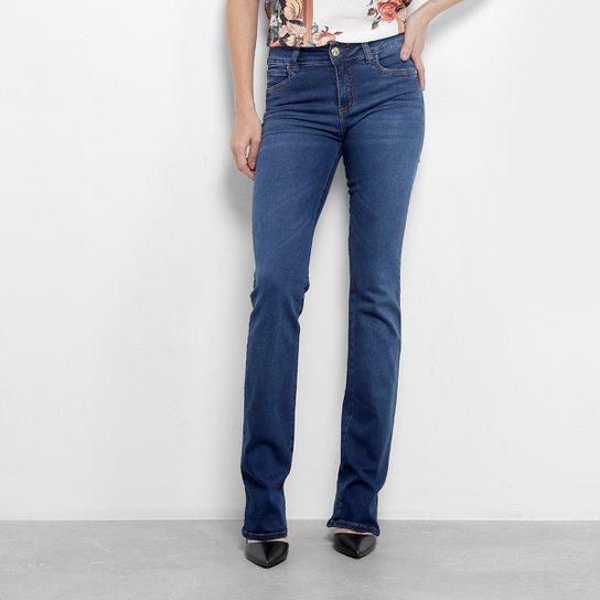 c050c1a38 Calça Jeans Colcci Fátima Cintura Média Feminina - Azul | Zattini