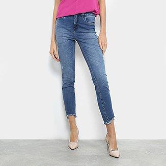 3aba18641db70 Calça Jeans Cigarrete Colcci Kim Cintura Média Feminina