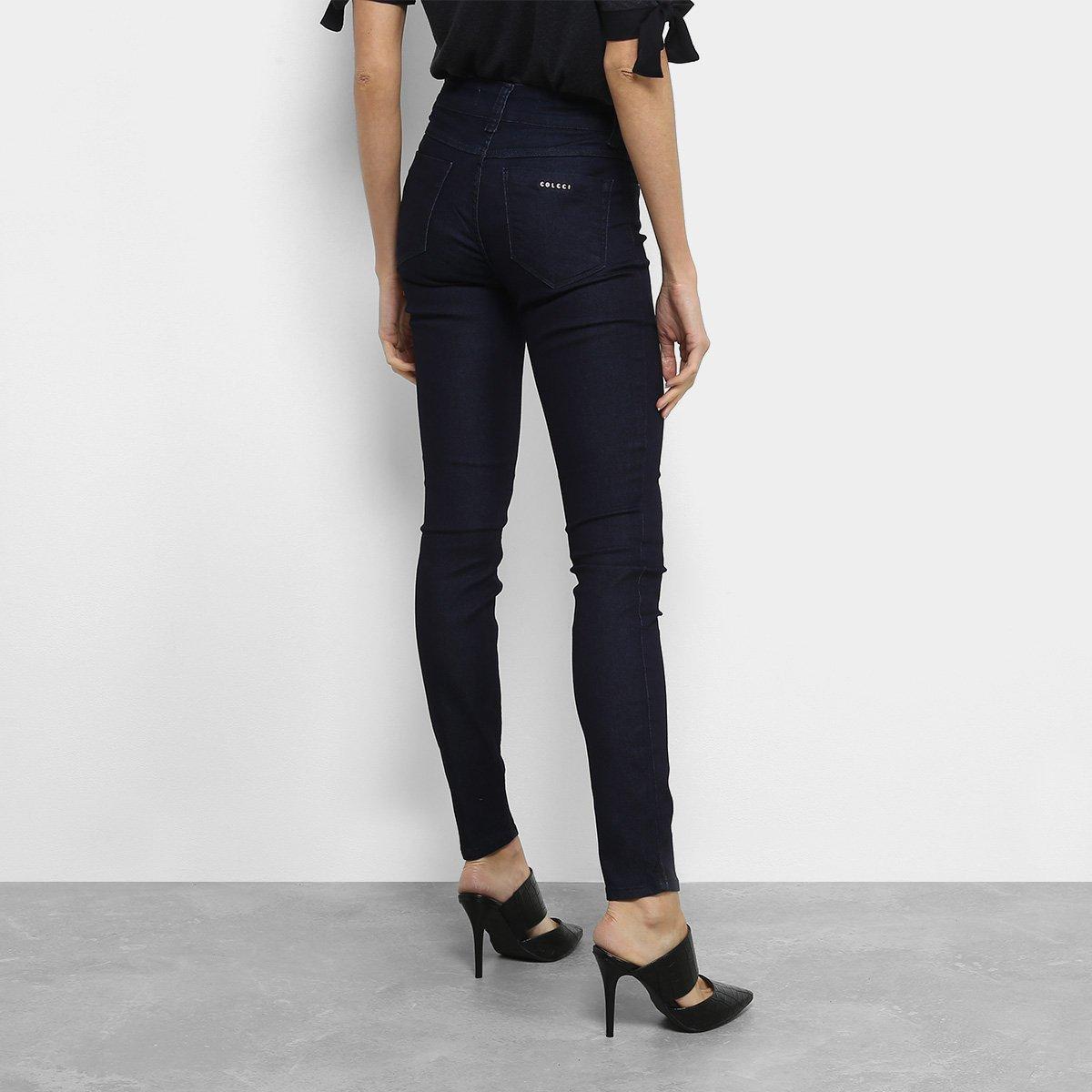 6dbb61aaa Calça Jeans Skinny Colcci Fátima Cintura Alta Feminina | Livelo -Sua ...