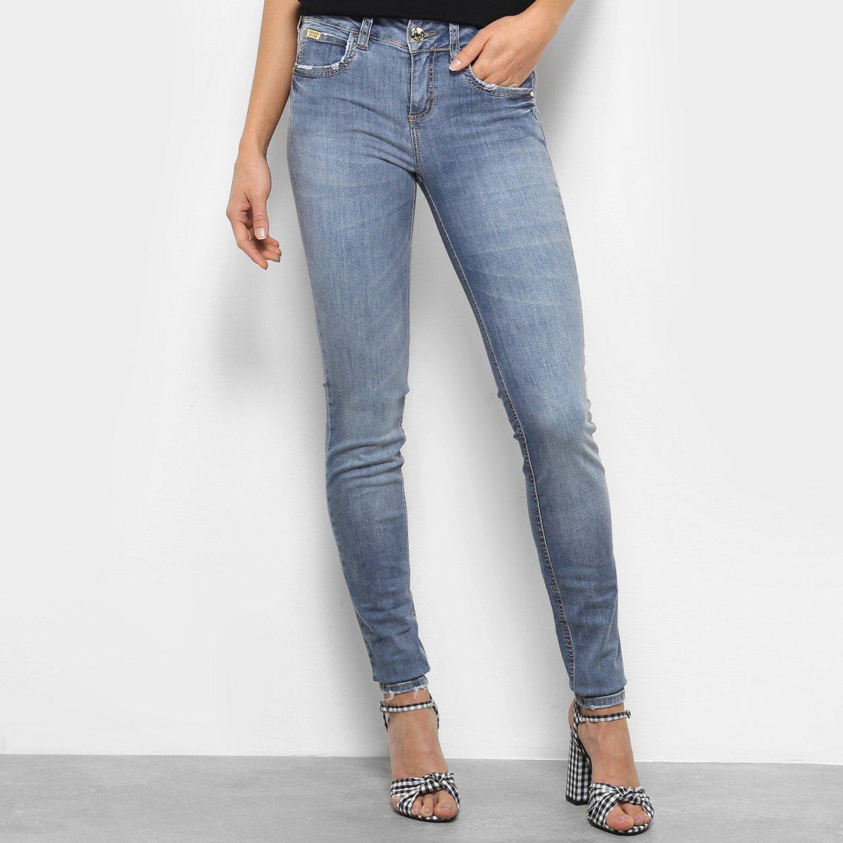 031498e27 Calça Jeans Skinny Colcci Cintura Média Feminina