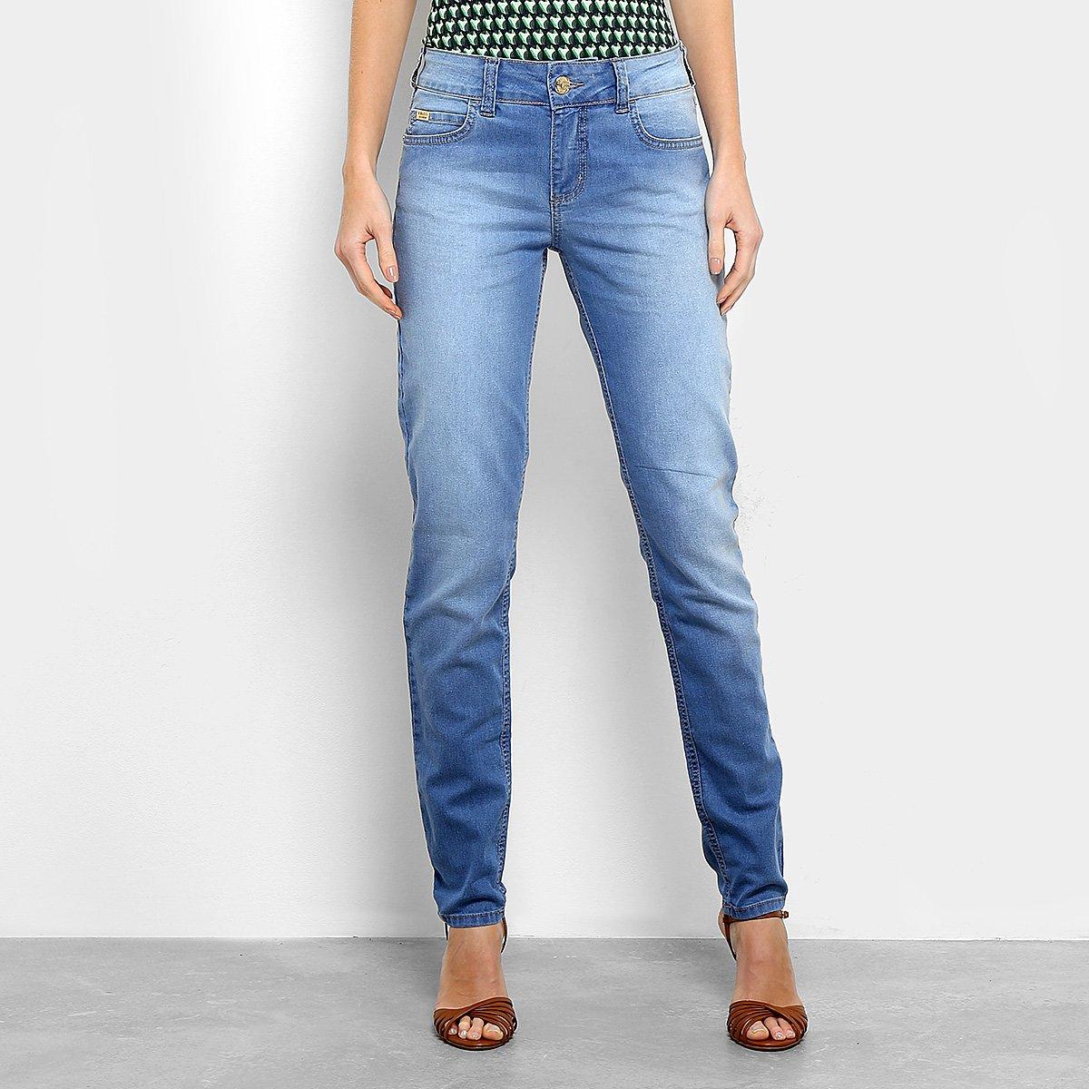 4431e9d6c Calça Jeans Skinny Colcci Estonada Cintura Média Feminina | Livelo ...