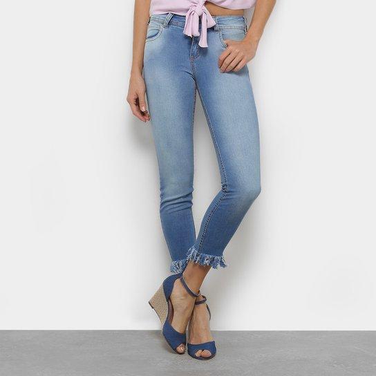 62f723ec5 Calça Jeans Cigarrete Colcci Fátima Cintura Baixa Feminina | Zattini