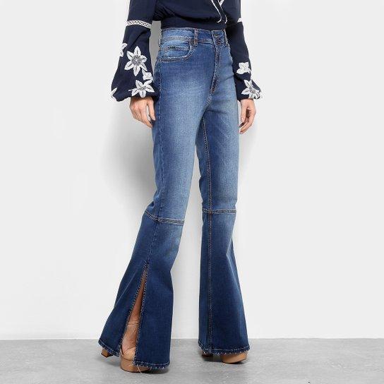 Calça Jeans Skinny Colcci Boot Cut Cintura Alta Feminina - Jeans ... 6968881ae43