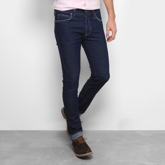 3a5c40624 Calça Jeans Skinny Colcci Lavagem Tradicional Masculina - Azul Escuro