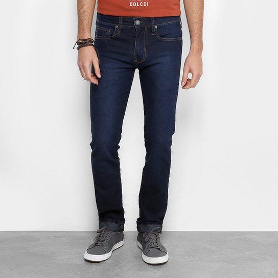 e2e7afa73 Calça Jeans Slim Colcci Alex Masculina - Azul Escuro - Compre Agora ...