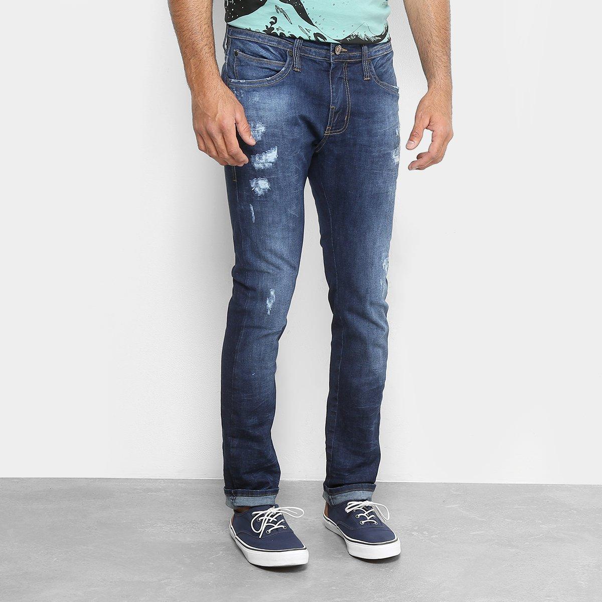 8eb9fae73 Calça Jeans Skinny Colcci Felipe Estonada Puídos Masculina | Livelo ...