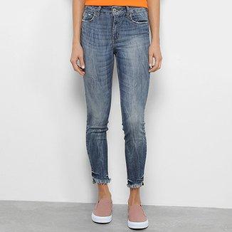 677cecc1e Calça Jeans Skinny Colcci Bia Estonada Feminina