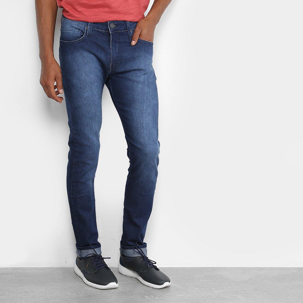 fb6270241 Calça Jeans Skinny Colcci Felipe Cintura Média Masculina