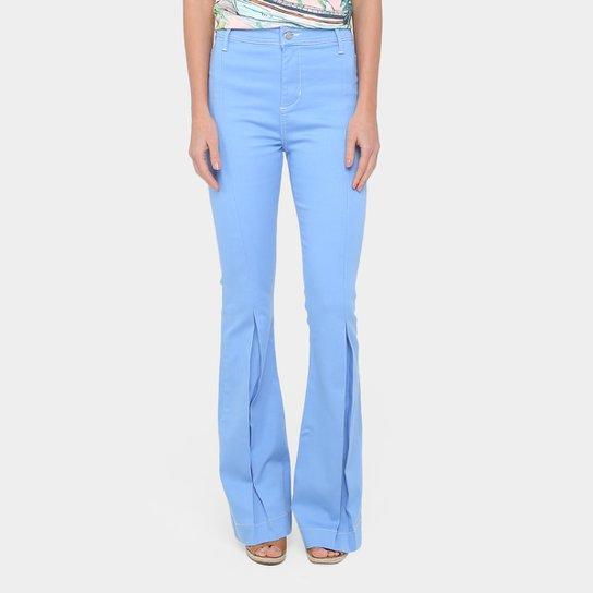 Calça Jeans Flare Forum Lavagem Clara Cintura Alta Feminina - Compre ... e0c19f5d43
