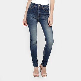 6caab0712 Calça Jeans Skinny Forum Marisa Cintura Alta Feminina