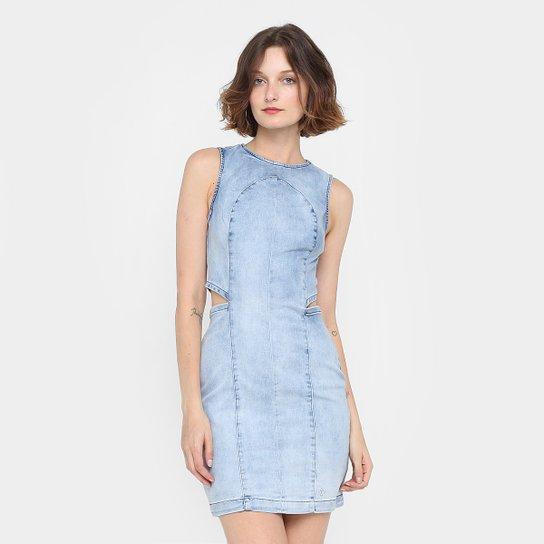 6e10abe60 Vestido Forum Tubinho Curto Jeans Indigo - Compre Agora | Zattini