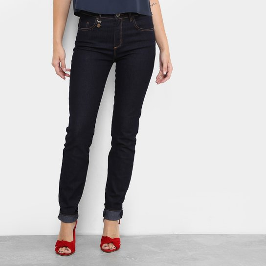 5d6d53940 Calça Jeans Skinny Forum Marisa Cintura Média Feminina - Compre ...