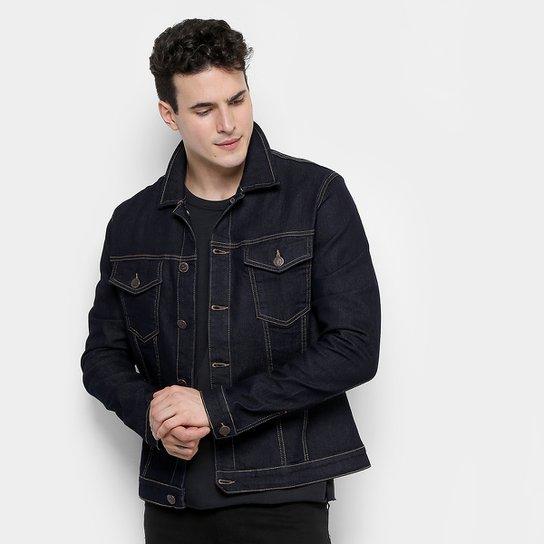 Jaqueta Jeans Forum Escura Masculina - Compre Agora  294cb0b79ea