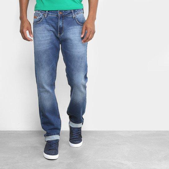 Calça Jeans Slim Forum Paul Indigo Masculino - Compre Agora  743aecd2375