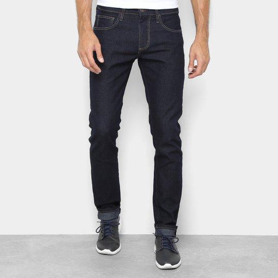 cca0a9289 Calça Jeans Slim Forum Paul Masculina - Azul Escuro | Zattini