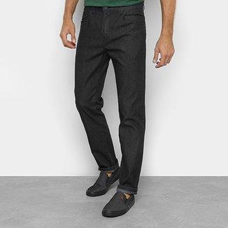 1675e1afb Calça Jeans Slim Ellus Lavagem Escura Cintura Média Masculina