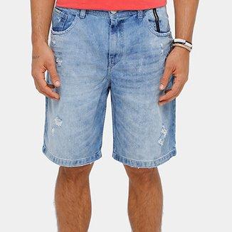 6a4f5ec459829 Bermuda Jeans Ellus 2nd Floor Lush Destroyed Masculina