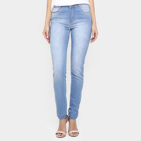 3880157ae Calça Sawary Skinny Hot Pant Lavagem Clara - Compre Agora